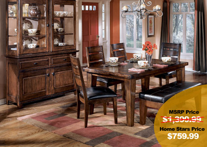 Superbe Larchmont Rectangular Table U0026 4 Side Chairs