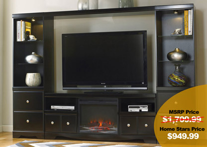 Shay Entertainment Center W LED Fireplace