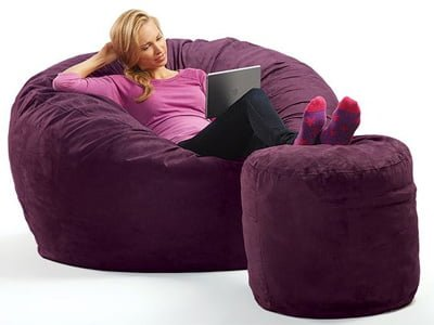 Queen-Size Bean Bag Chair