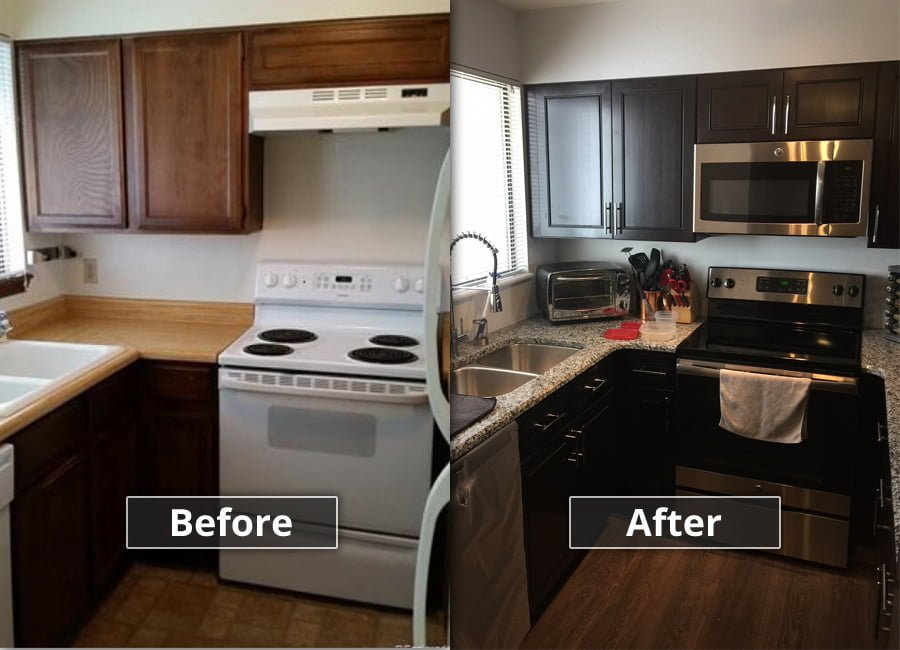 ... Kitchen Before And After ...