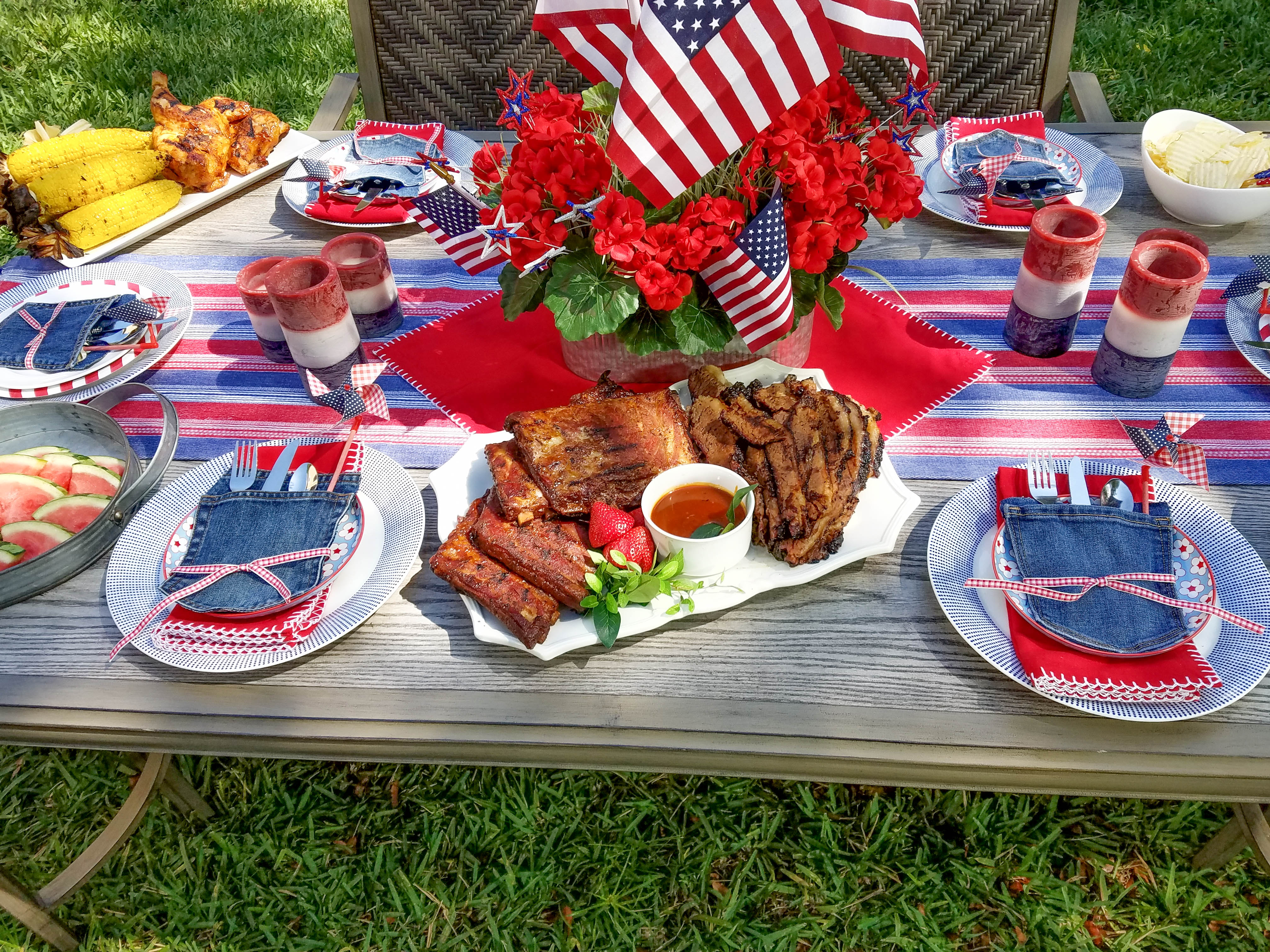 What's Grilling? Memorial Day Party Ideas